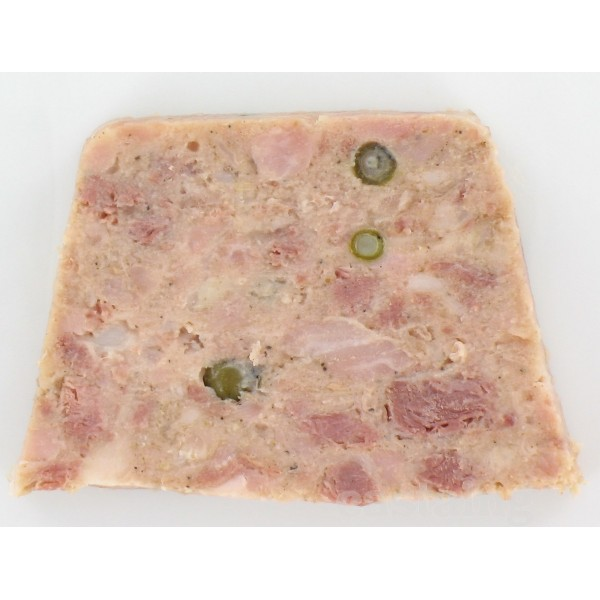 castaing terrine of duck with green pepper. Black Bedroom Furniture Sets. Home Design Ideas